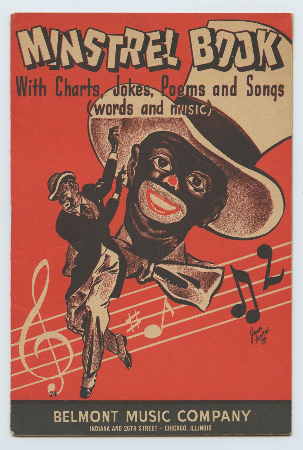 1938 Minstrel Book Belmont Music Company