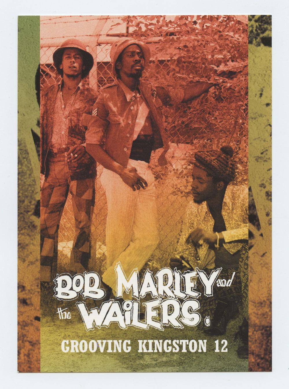 Bob Marley Sticker Grooving Kingston 12 Promo 2004