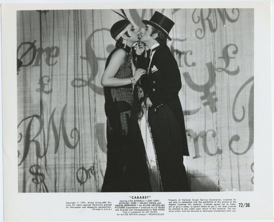 CABARET Lobby Card 1972 Liza Minnelli Michael York 8 x 10 BW