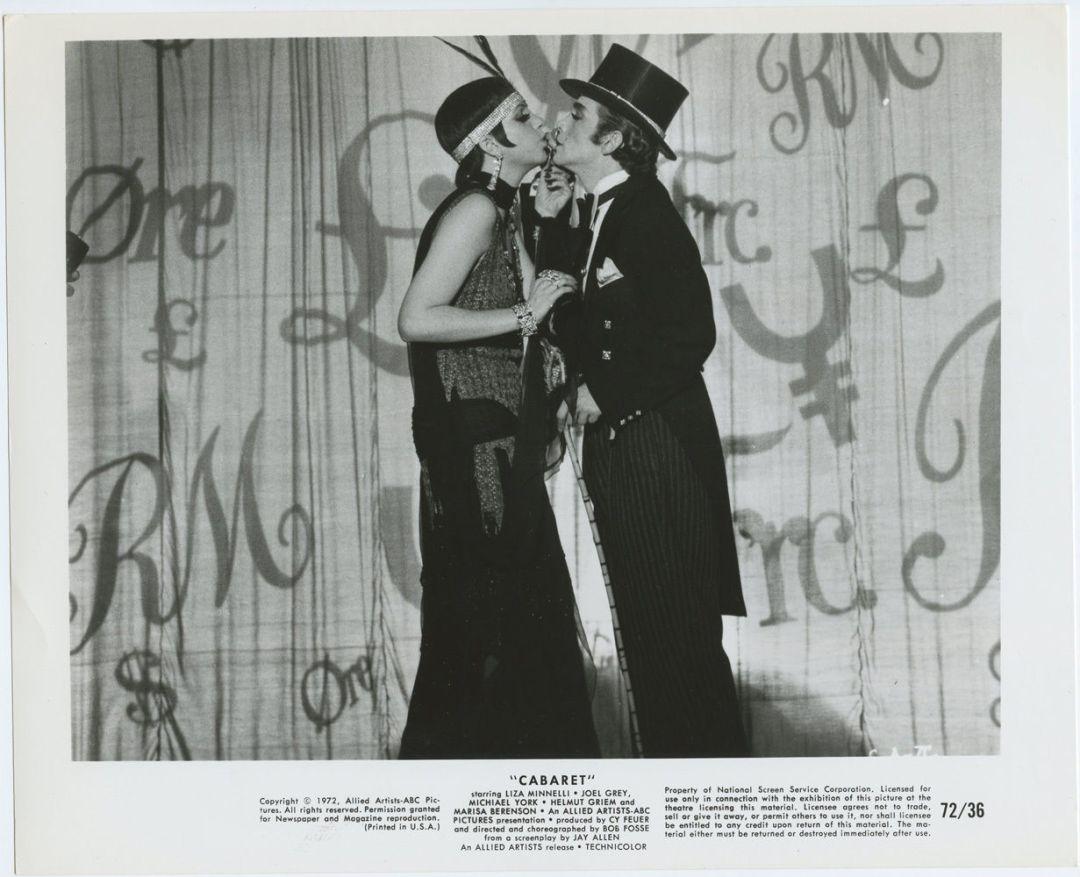 CABARET Lobby Card 1972 Liza Minnelli Michael York BW