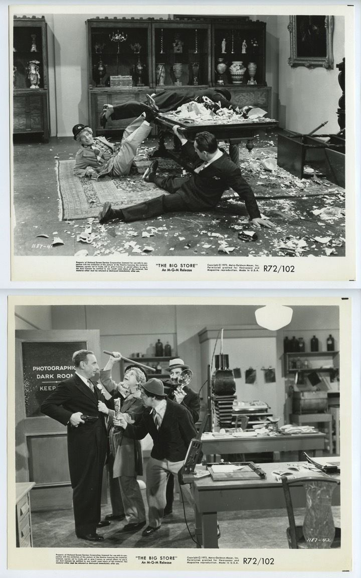 Marx Brothers 1941 The Big Store R72  Lobby Card Set of 15