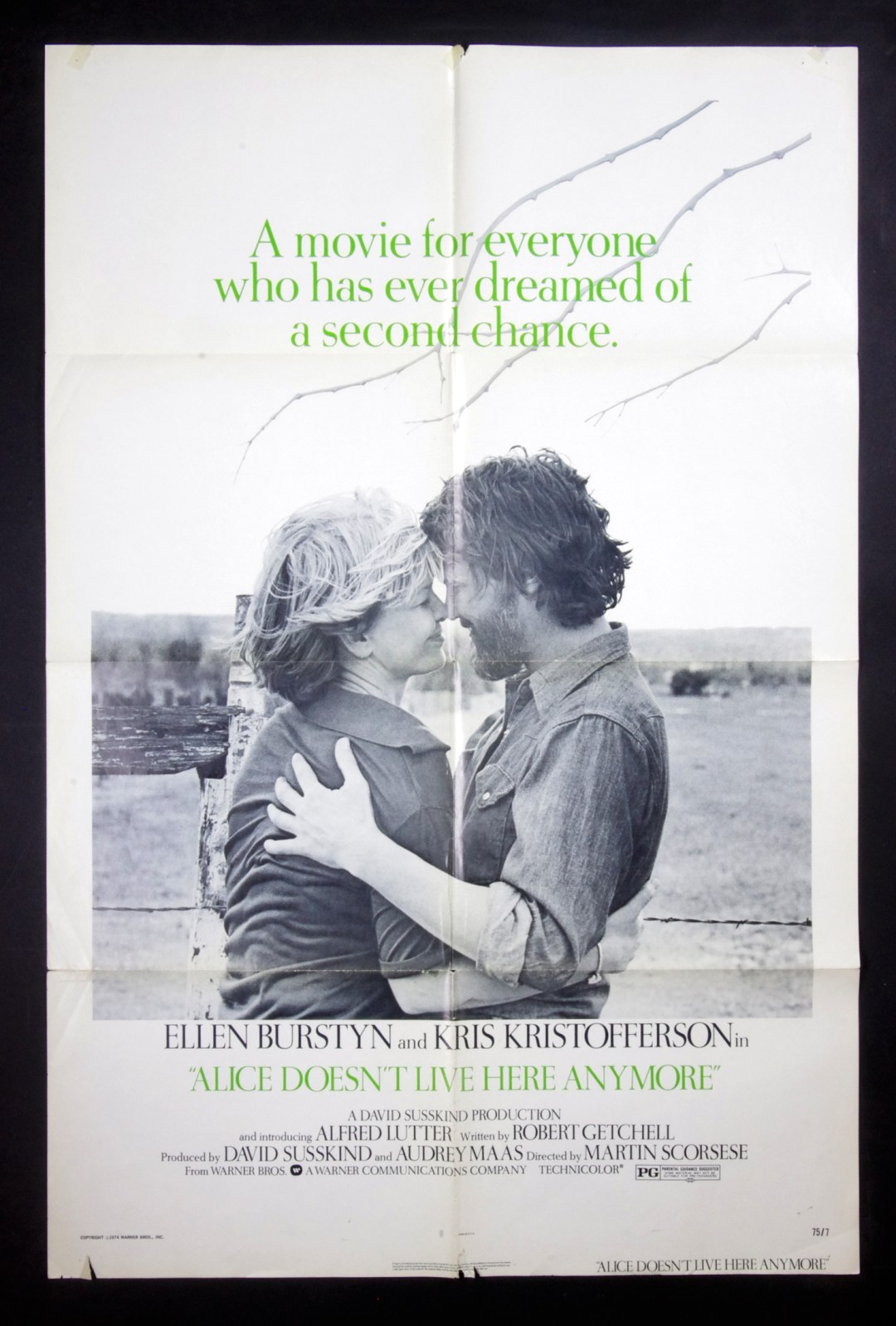 Alice Doesn't Live Here Anymore Movie Poster 27 x 41 1 Sheet 1974