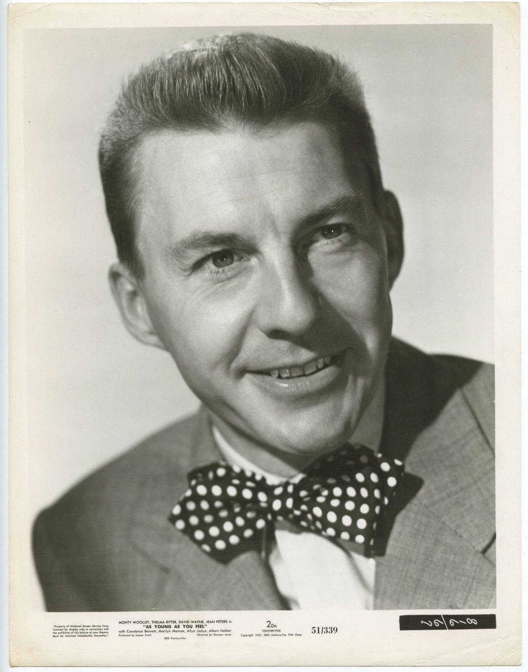 David Wayne 1951 As Young As You Feel 8x10 Lobby Card 816/67