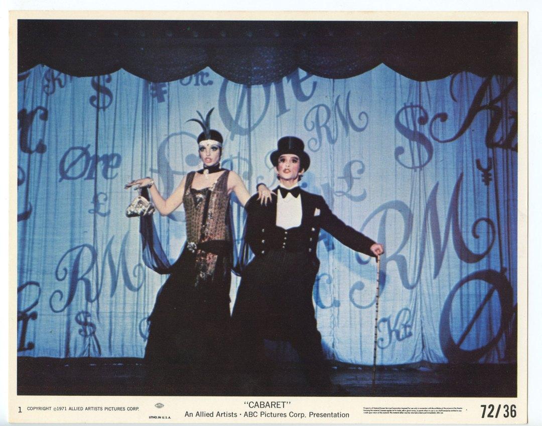 CABARET Lobby Card set of 4 1972 Liza Minnelli Michael York 8x10