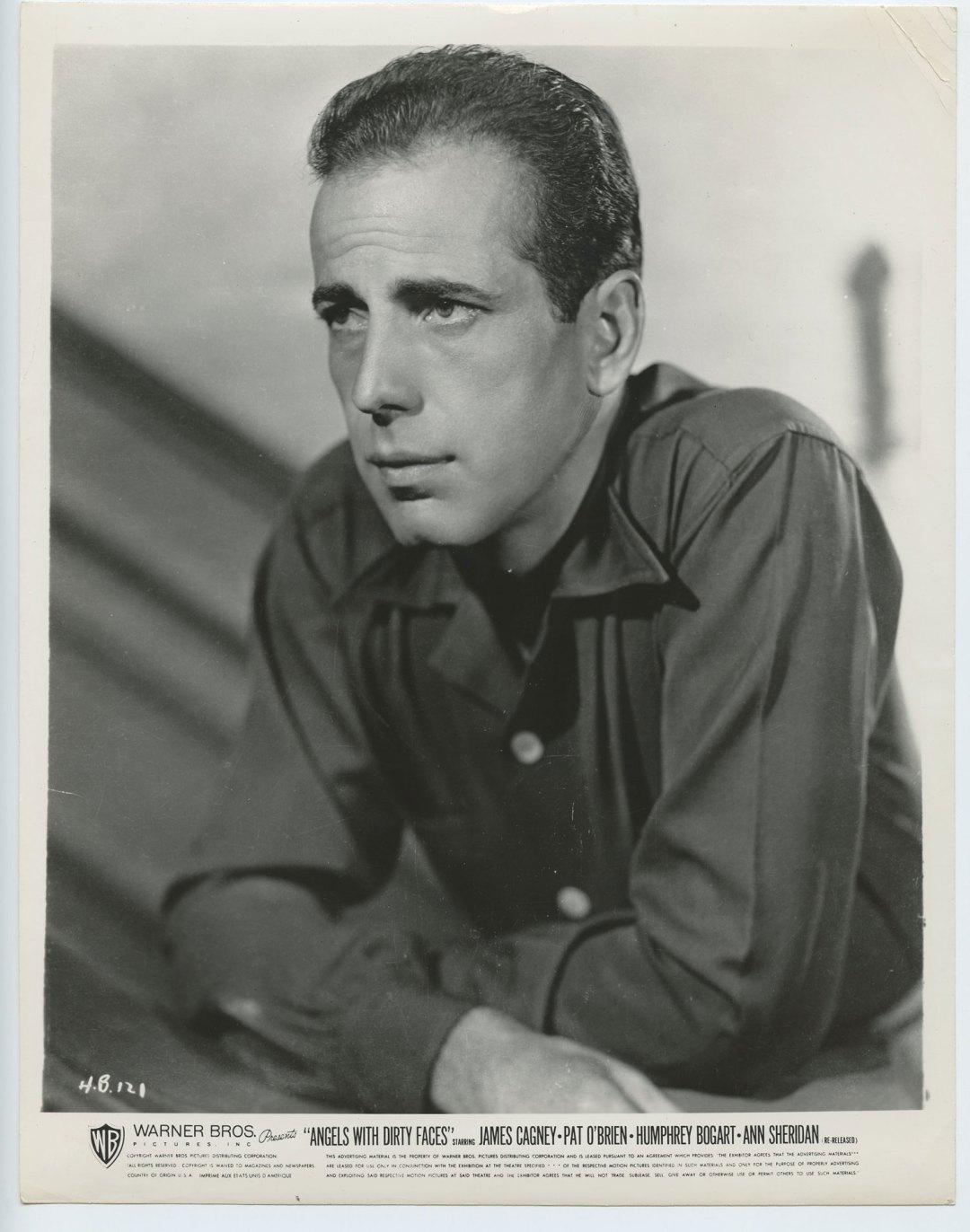 Humphrey Bogart  1938 Angels with Dirty Faces 8x10 Lobby Card R66