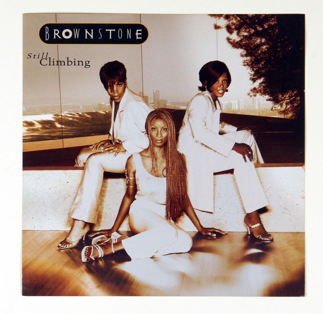 Brown Stone Poster Flat Still Climbing 1997 Album Promo 12 x 12