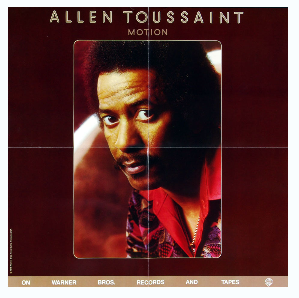 Allen Toussaint Poster 1978 Motion Album Promo 23 x 23
