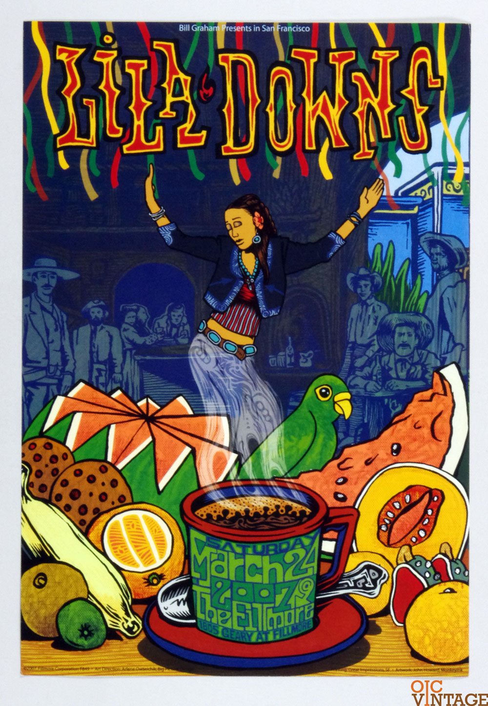 New Fillmore F849 Poster Lila Dowing 2007 Mar 27
