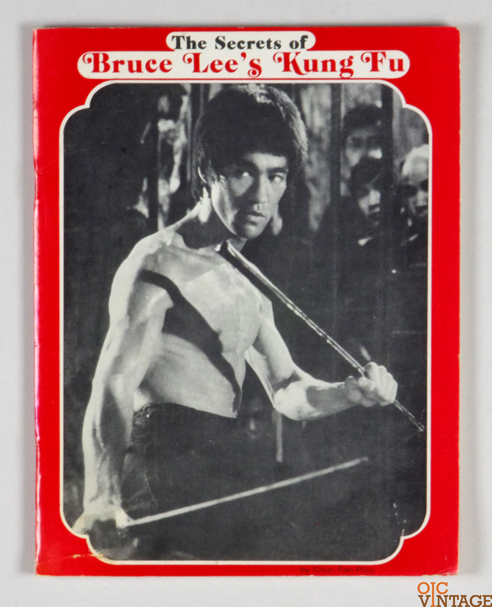 Bruce Lee Book 1974 The Secret of Bruce Lee's Kung Fu First Edition