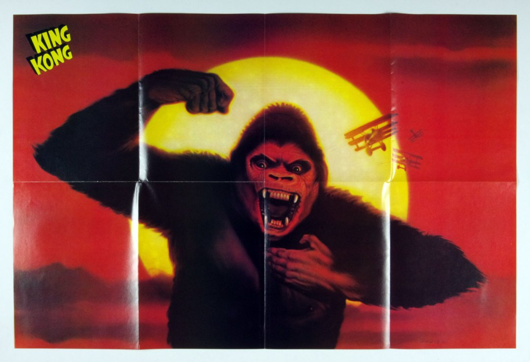 KING KONG Poster Magazine 1977 The Monster That Made History 23 x 34