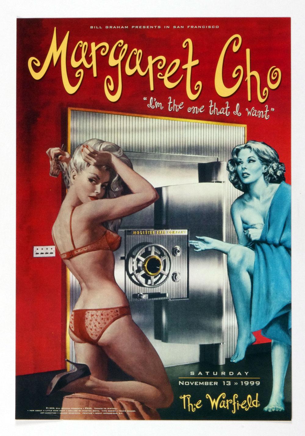 Bill Graham Presents Poster 1999 Nov 13 Margaret Cho #225
