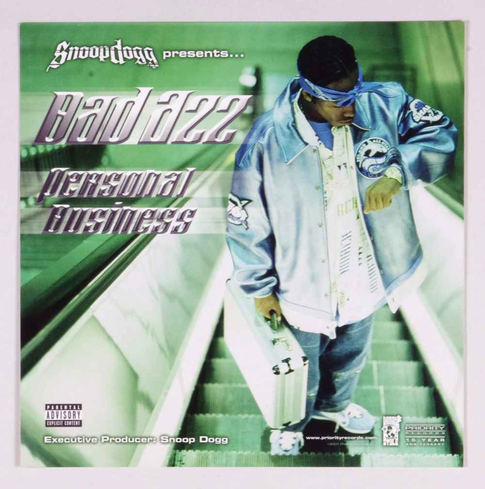 Bad Azz Poster Flat 2001 Personal Business Album Promo 12 x 12