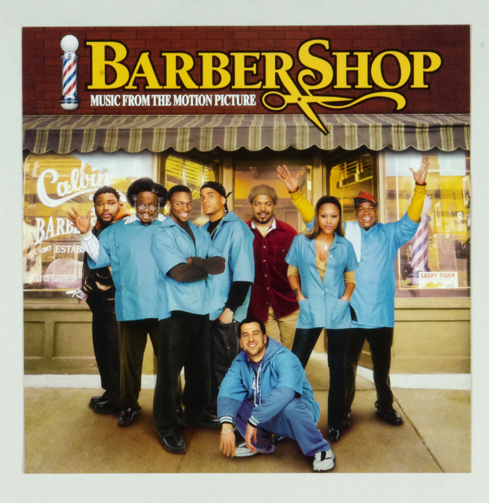 Barber Shop Poster Flat 2002 Movie OST Album Promo 12 x 12