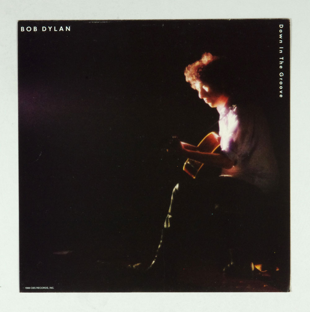 Bob Dylan Poster Flat 1988 Down In The Groove Album Promo 12x12 2 sidedd