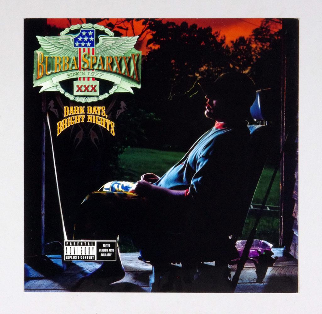 Bubba Sparxxx Poster Flat 2000 Dark Days Bright Nights Album Promo 12 x 12
