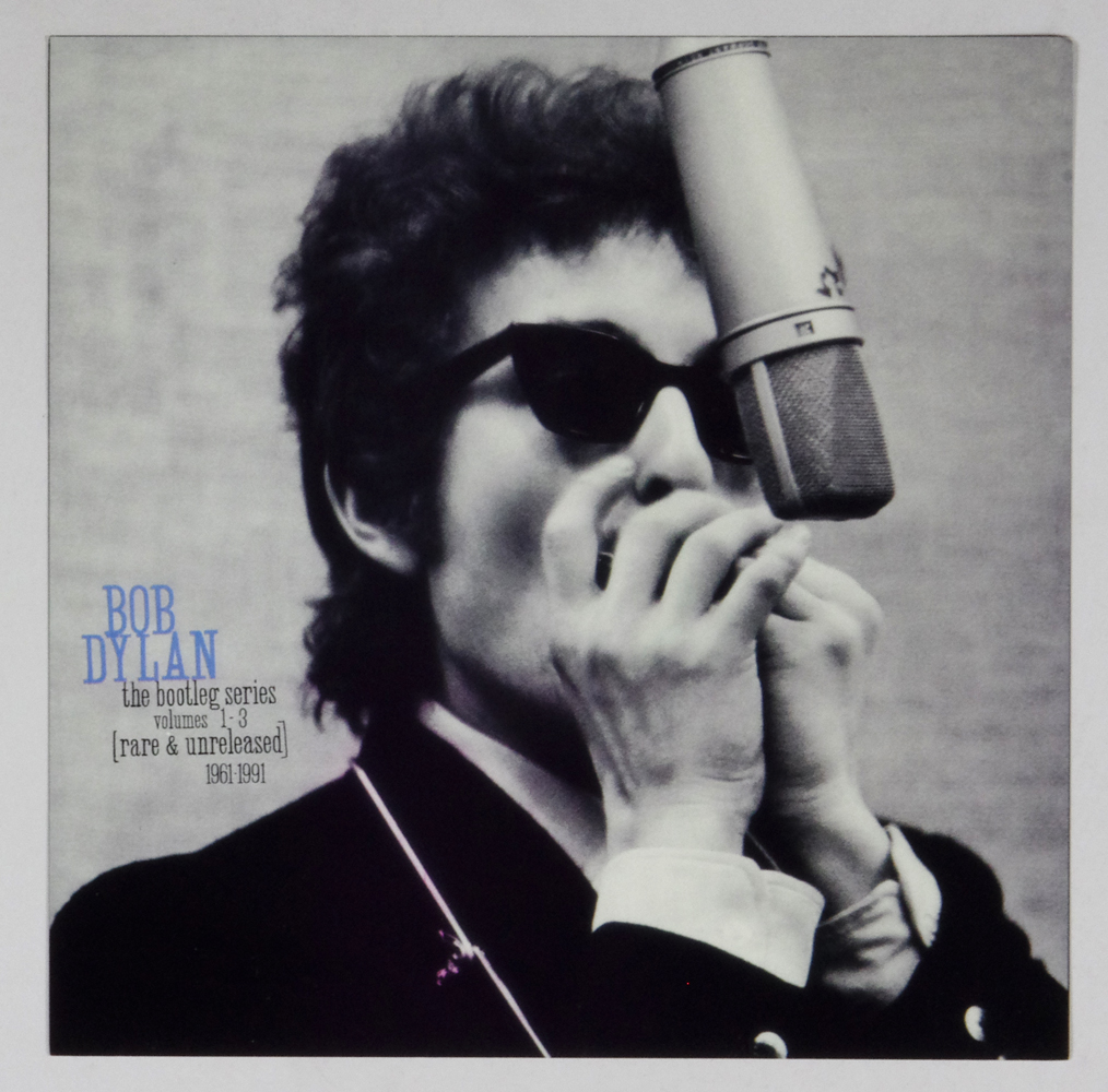 Bob Dylan Poster Flat The Bootleg Series Vol.1-3 Album Promo 12x12 2 sided