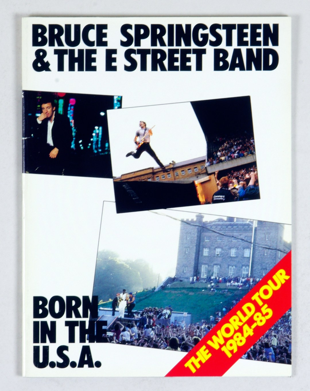 Bruce Springsteen Program Book 1984 1985 Born In The World Tour