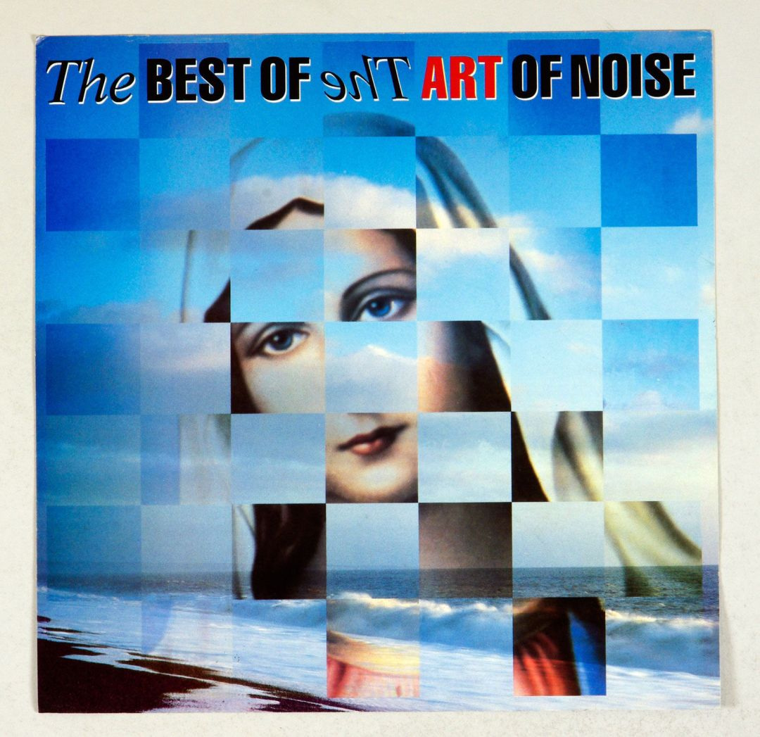 Art of Noise Poster Flat 1992 Compilation Album release promo 12 x 12