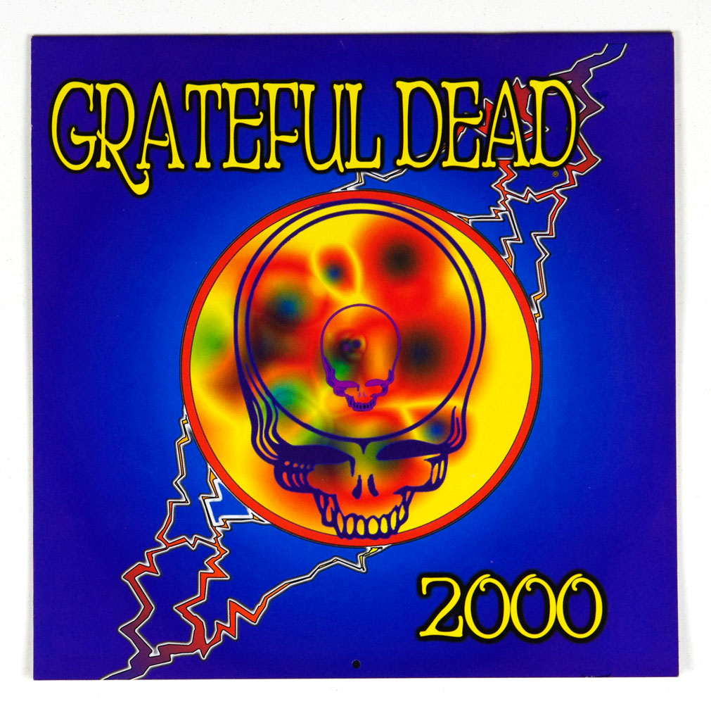 Grateful Dead The offical Calendar 2000 Retrospective