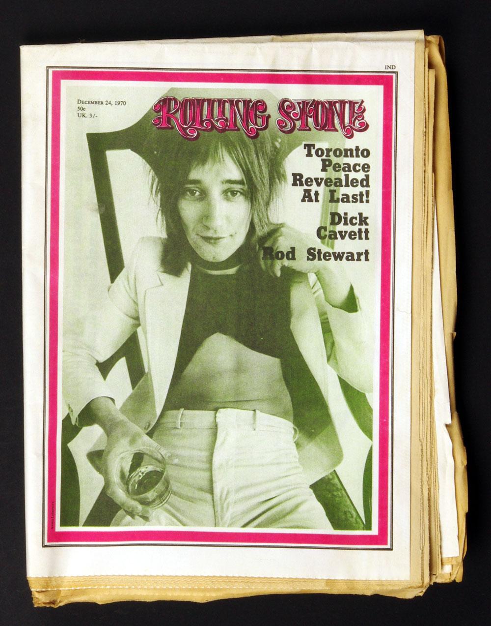 Rolling Stone Magazine 1970 Dec 24 No. 73 Rod Stewart