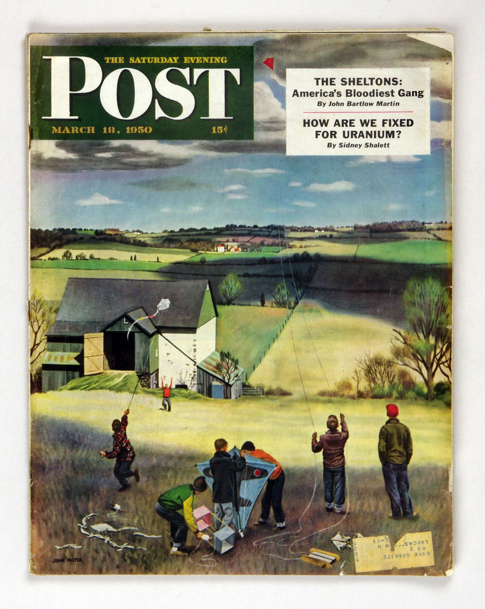 The Saturday Evening Post 1950 Mar 18 Kite Flying