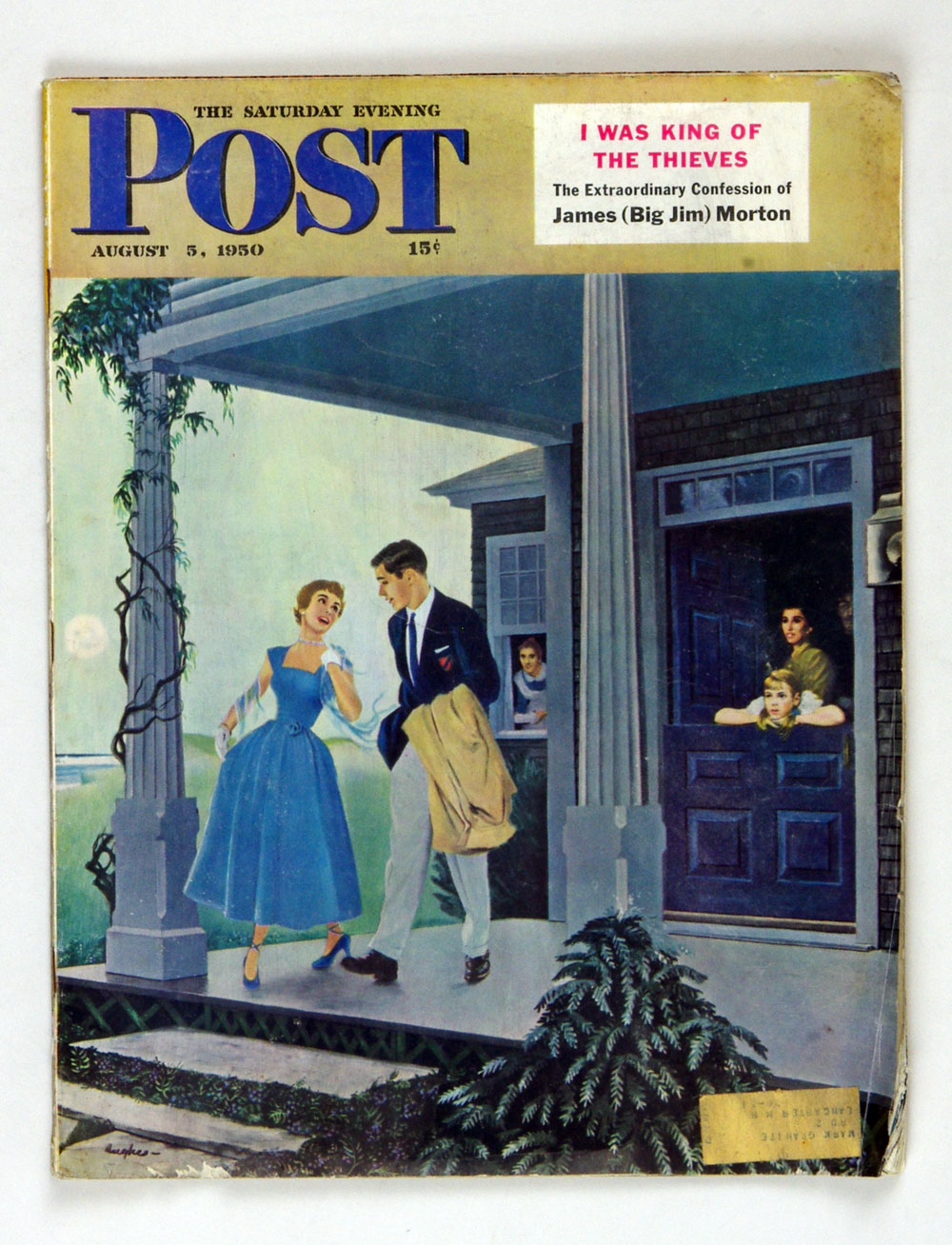 The Saturday Evening Post 1950 Aug 5 Leaving for a Date