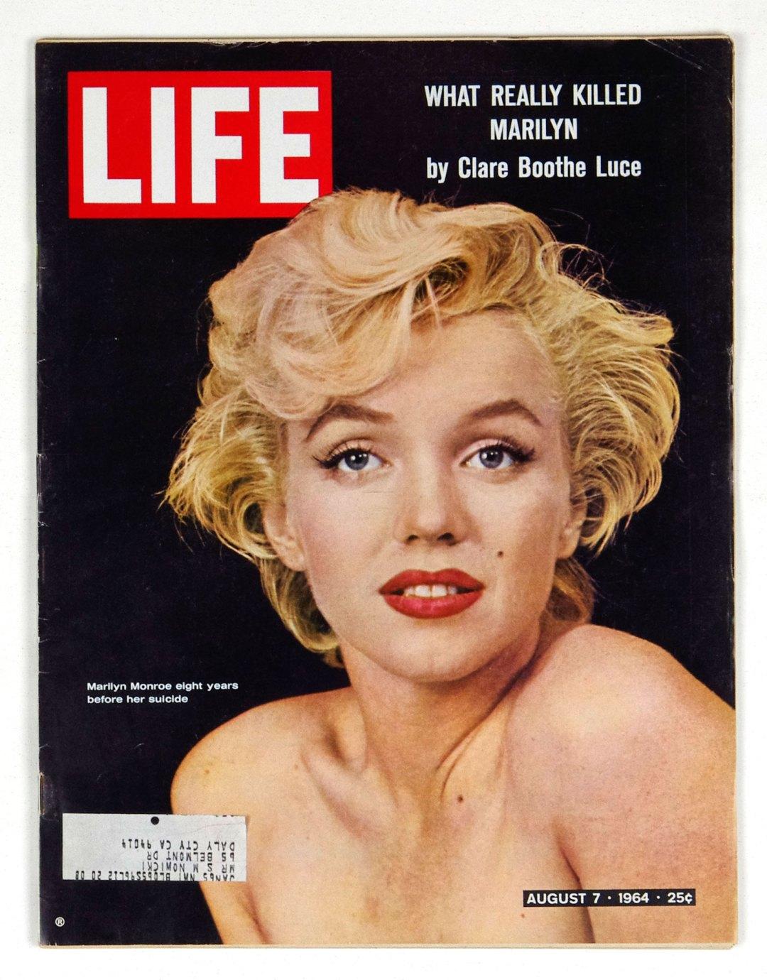 LIFE Magazine 1964 August 7 Marilyn Monroe