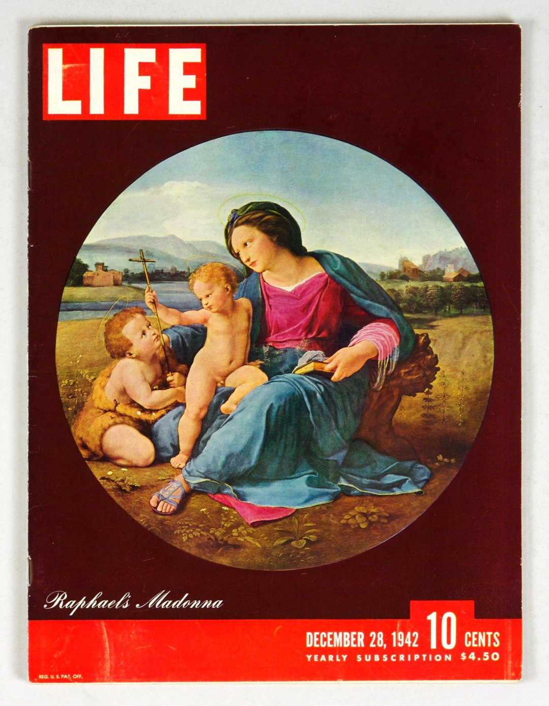 LIFE Magazine 1942 December 28 Raphael's Madonna