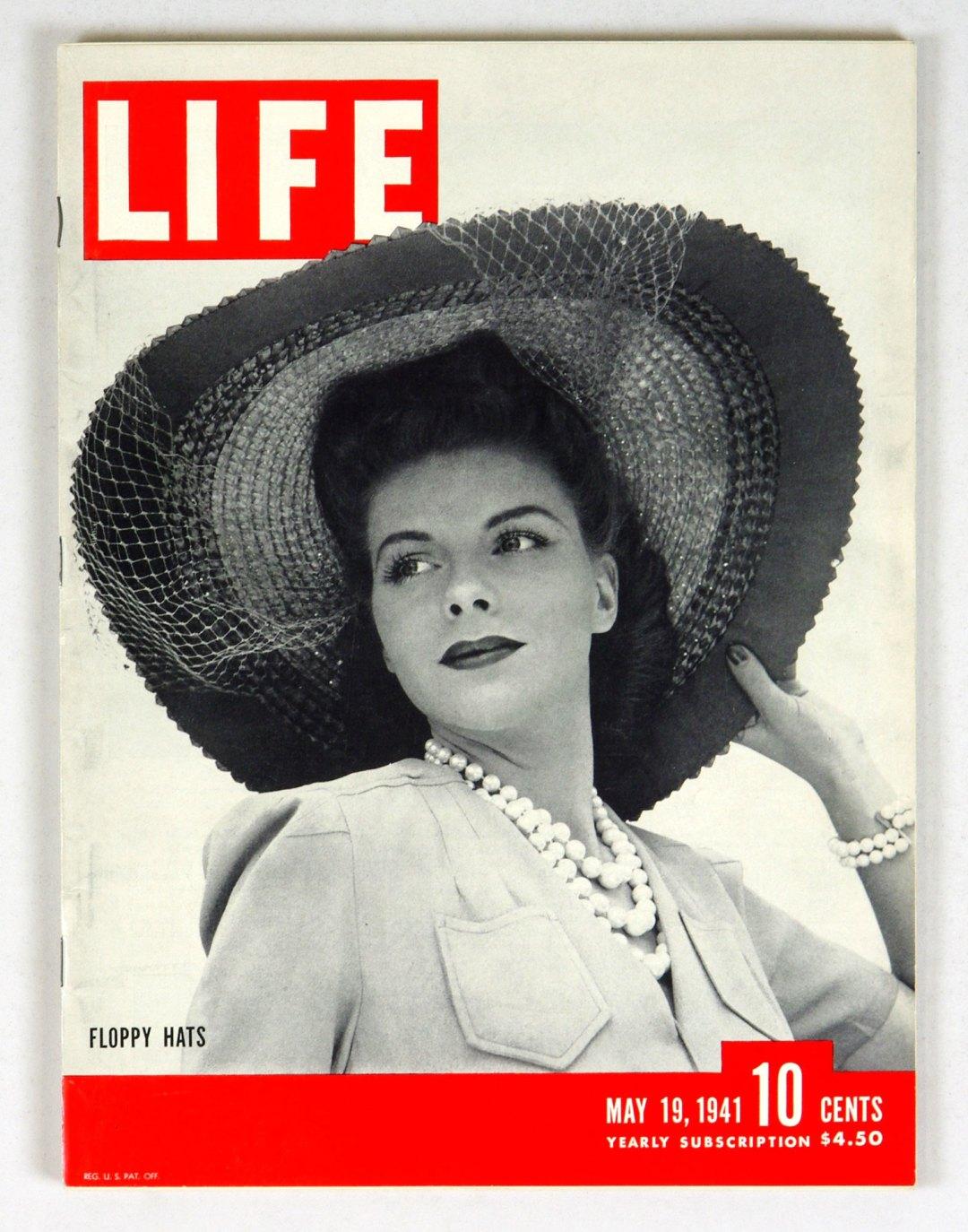 LIFE Magazine 1941 May 19 Floppy Hats