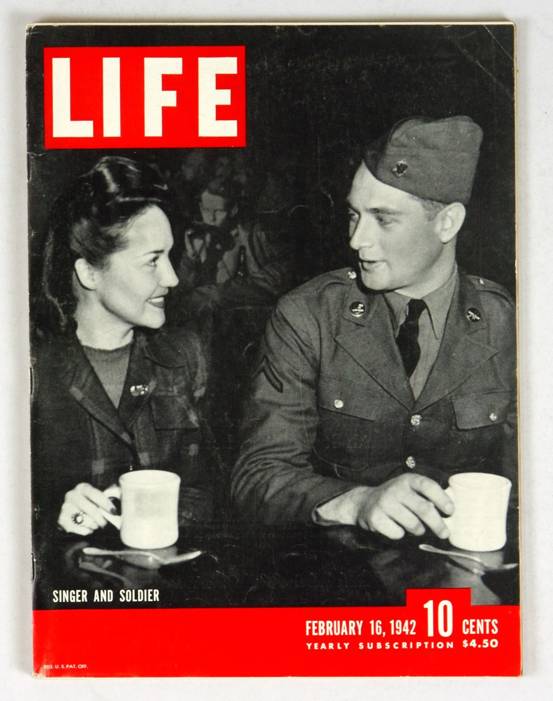 LIFE Magazine 1942 February 16 Singer and Soldier