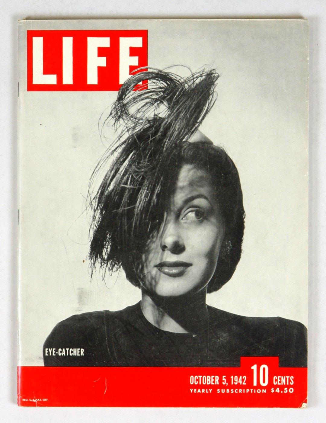 LIFE Magazine 1942 October 5 Eye Catcher Chief
