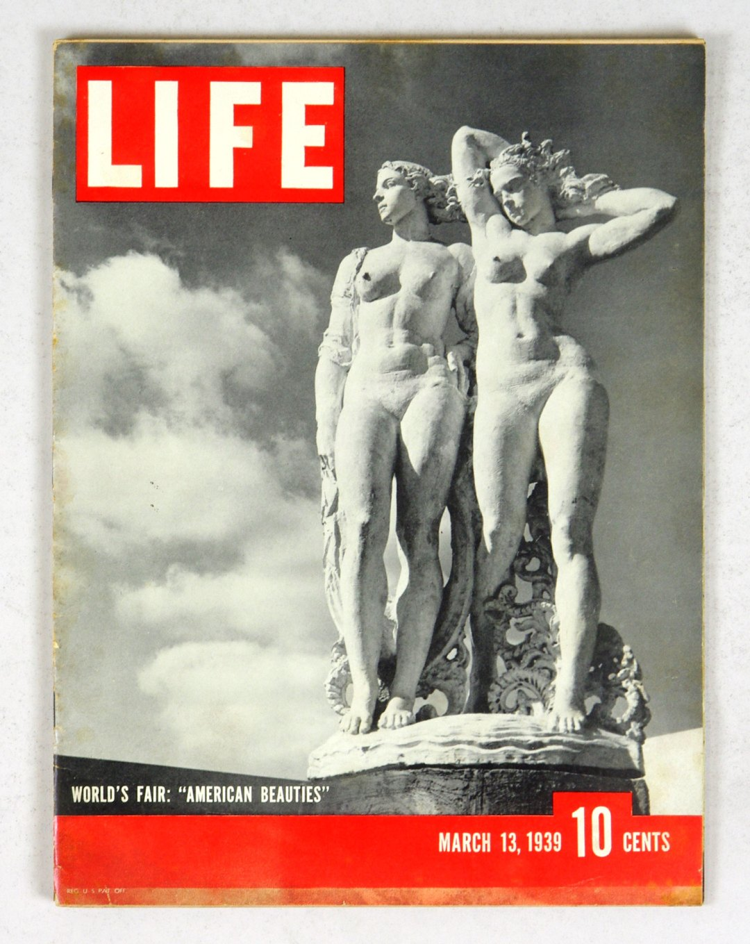 LIFE Magazine 1939 March 13 World's Fair American Beauties