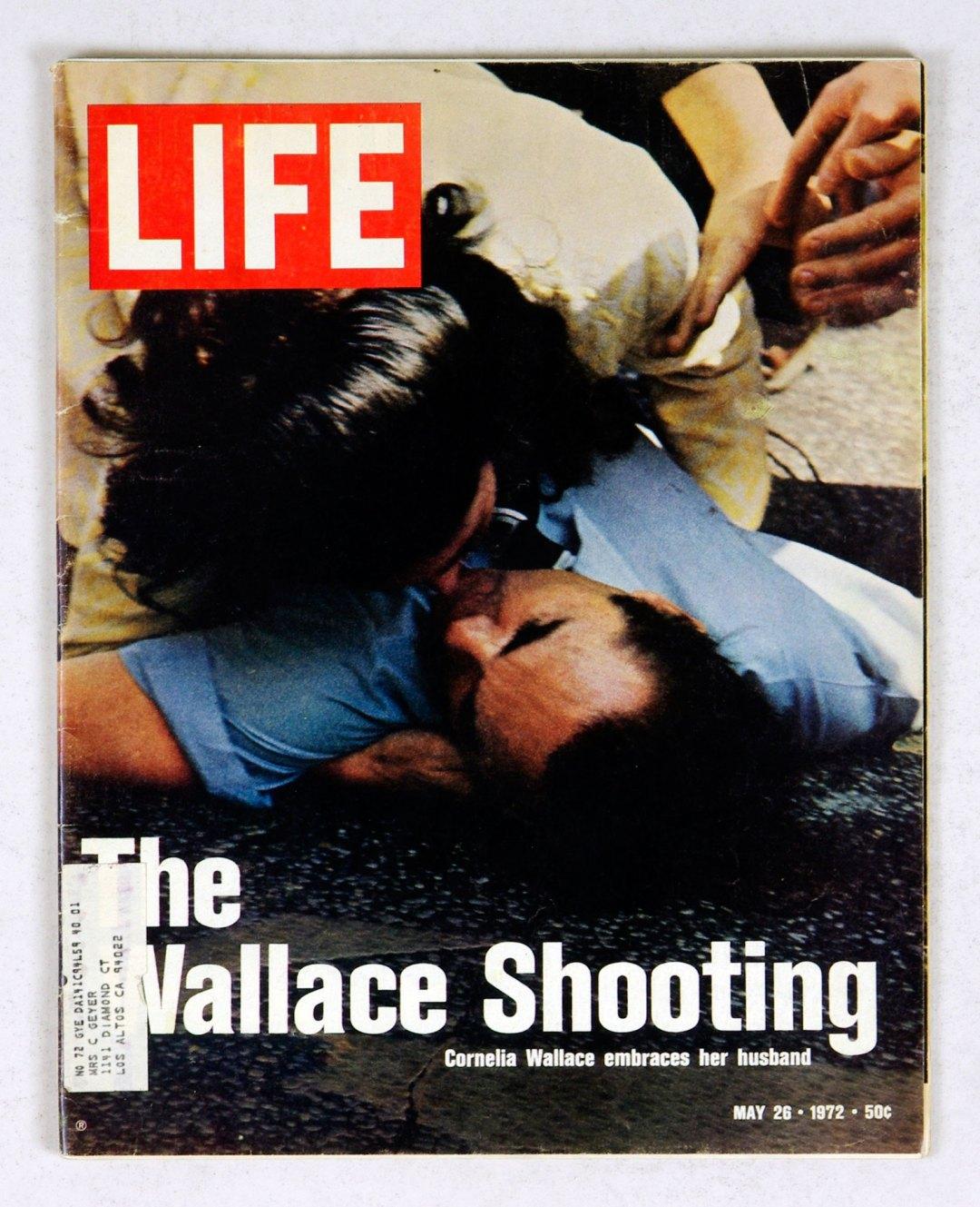 LIFE Magazine 1972 May 26 The Wallace Shooting