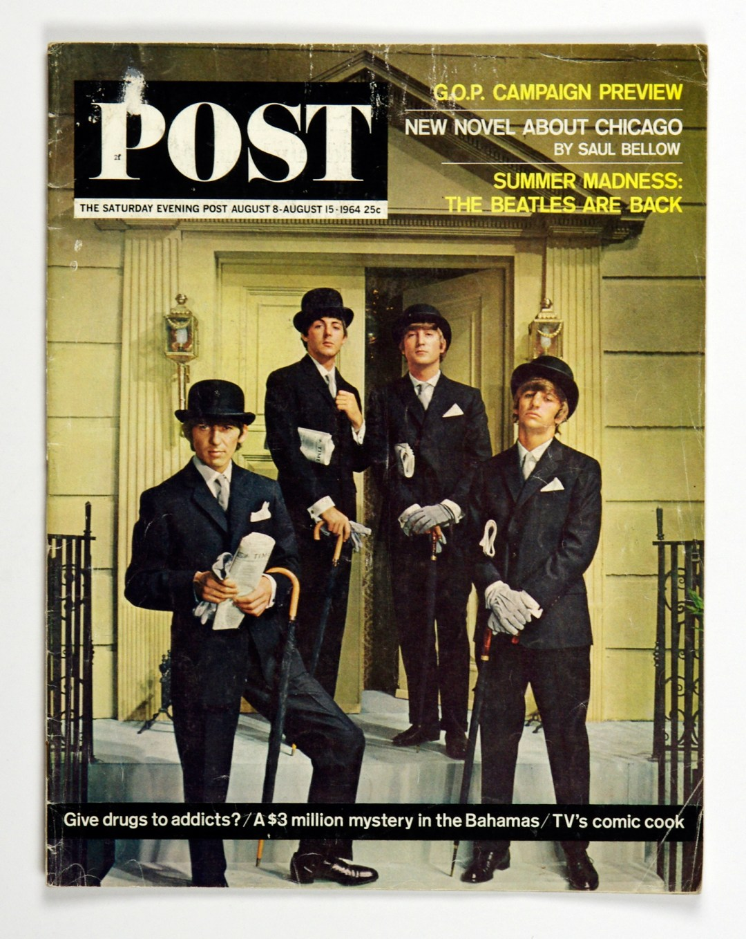 The Saturday Evening Post 1964 August 8 The Beatles