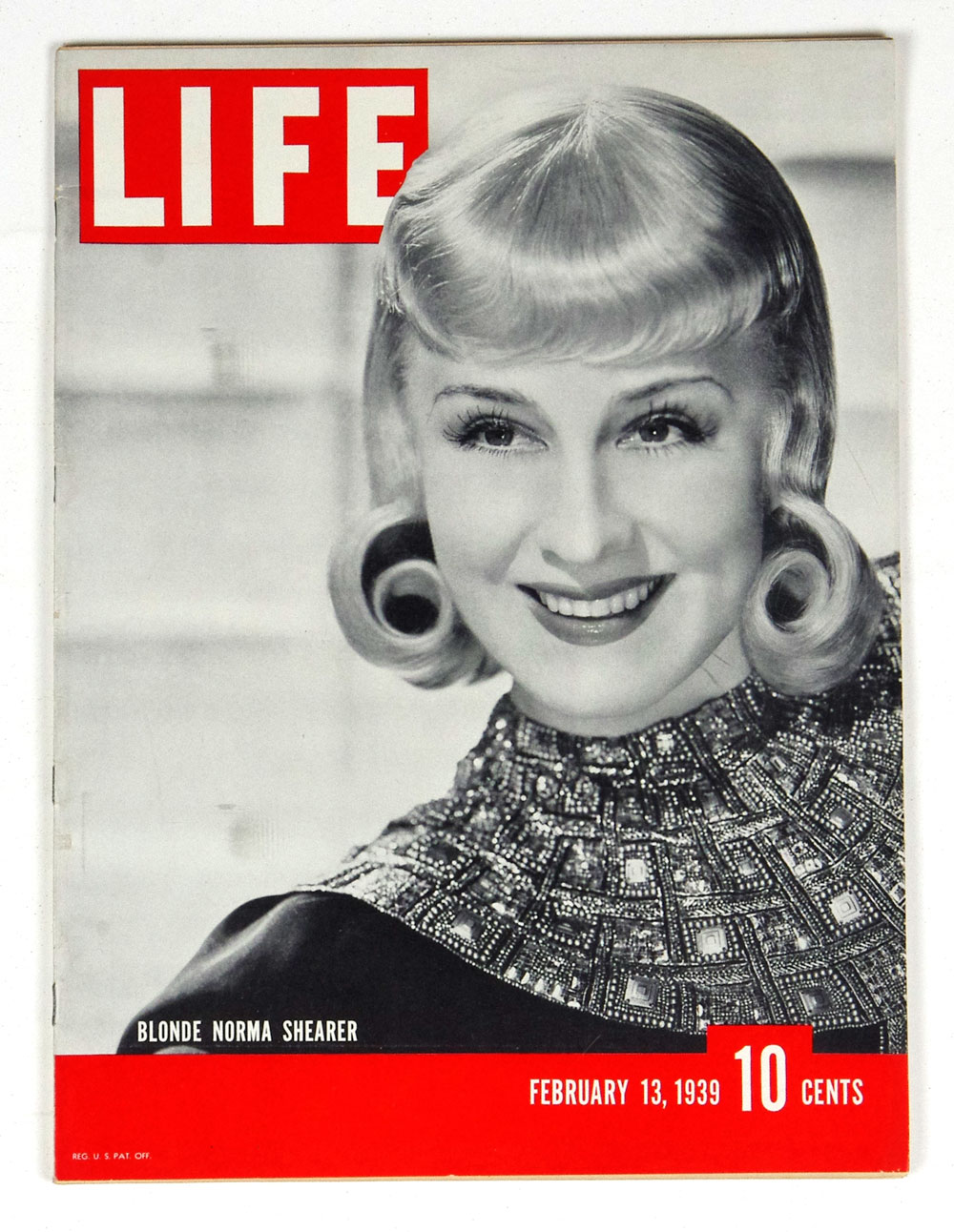 LIFE Magazine 1939 February 13 Blonde Norma Shearer