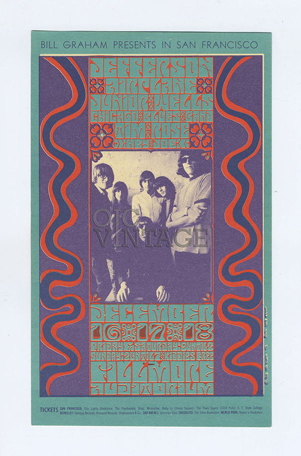 Bill Graham 042 Handbill Very Fine Condition