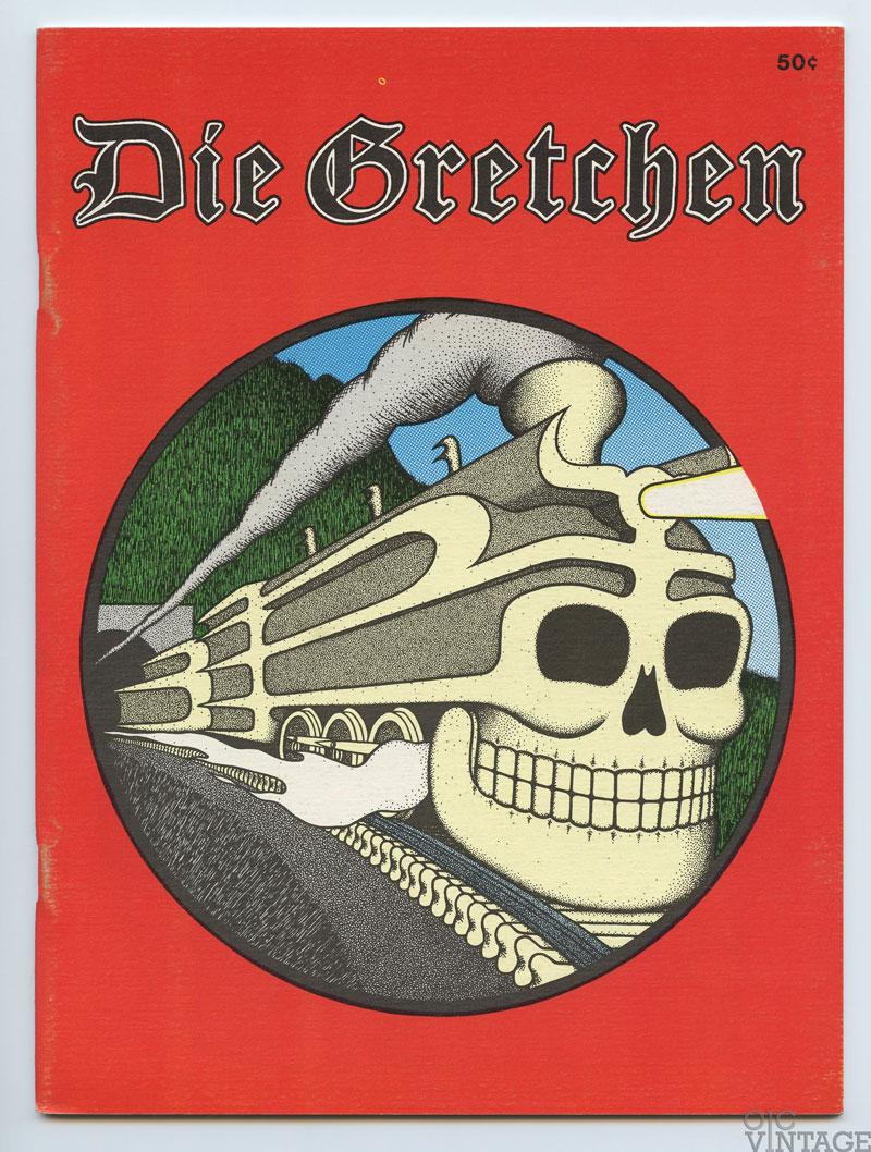 Jim Harter Artwork Collection Book 1973 Die Gretchen