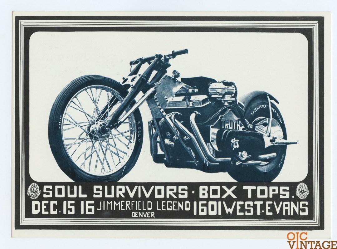 Family Dog Denver 15 Postcard Truth 1967 Dec 15 Soul Survivors Box Tops