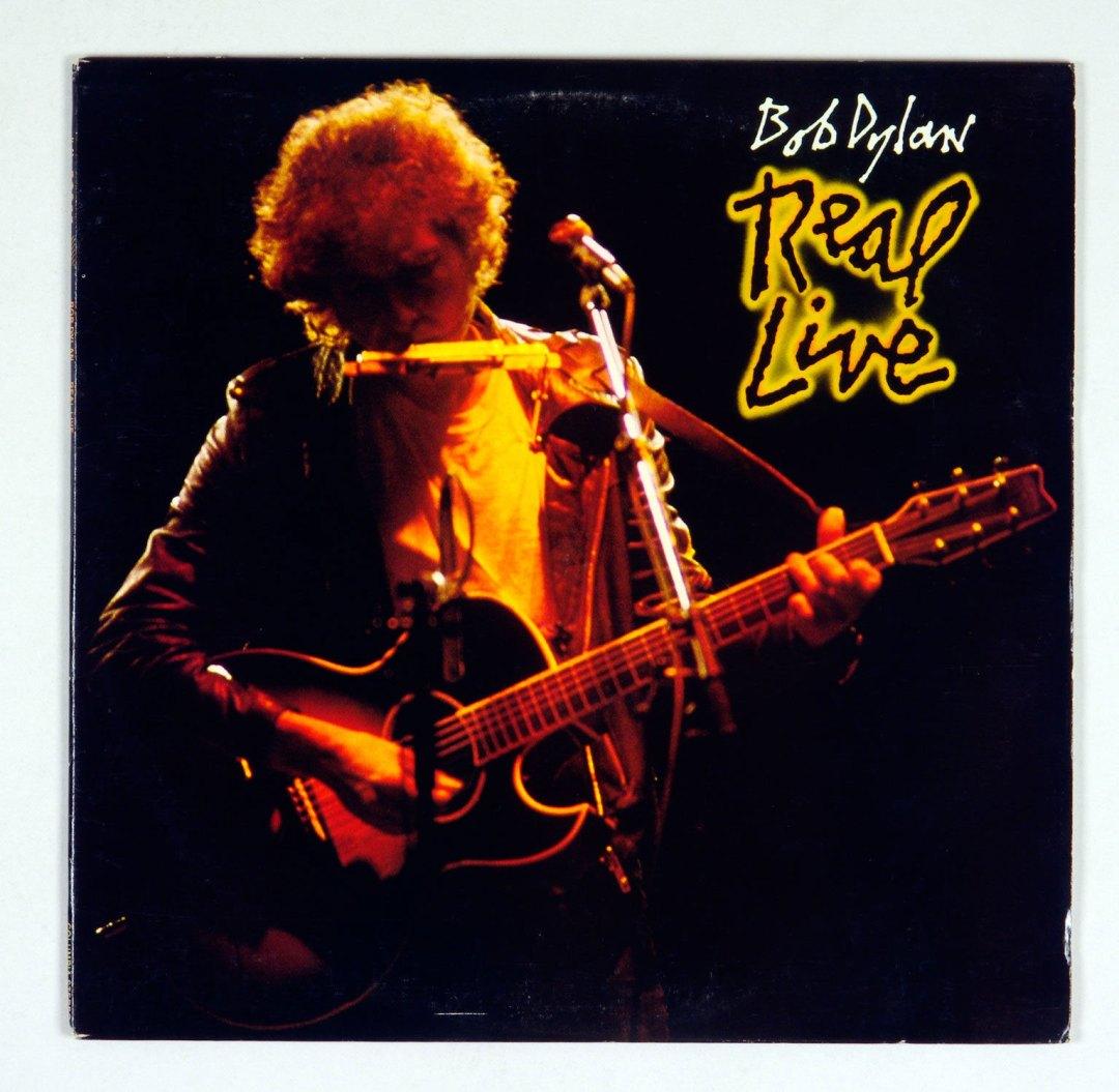 Bob Dylan Vinyl LP Real Live 1984