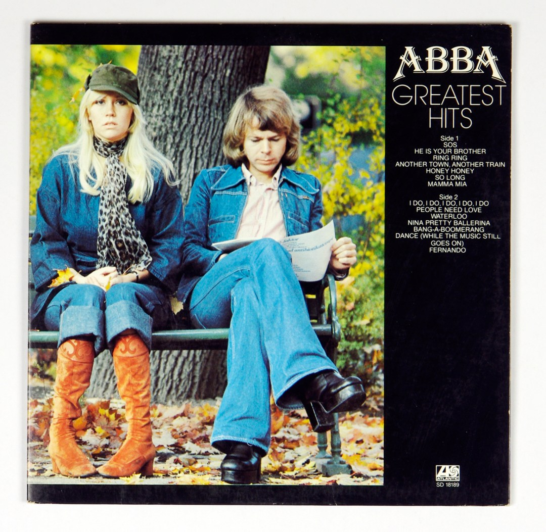 ABBA Greatest Hits Vinyl LP Gatefold 1976