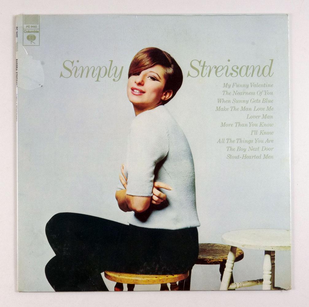 Barbra Streisand Simply Streisand Vinyl LP Sealed NEW 1967