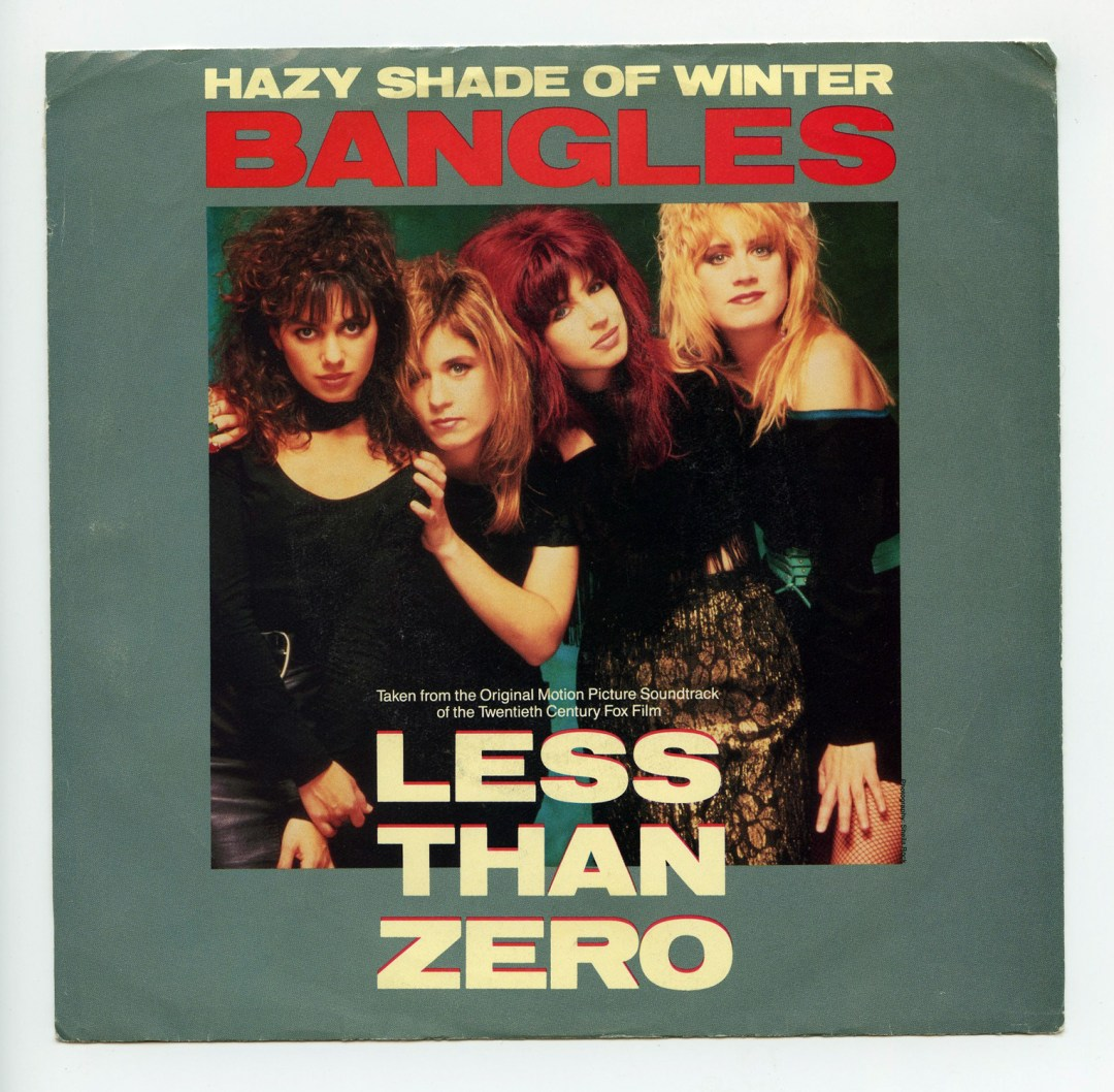 Bangles Hazy Shade of Winter Vinyl Singles 7
