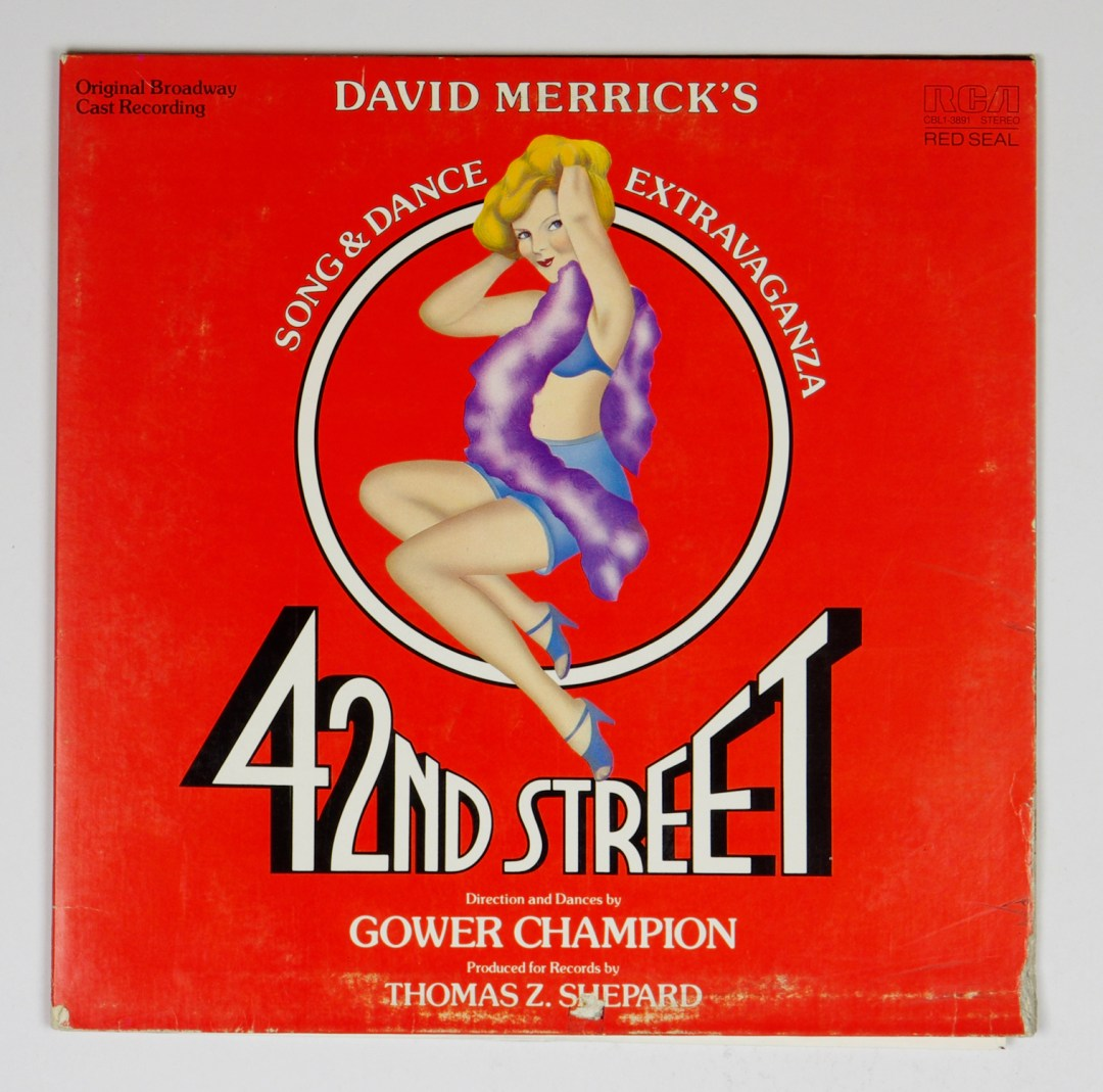 42nd Street Vinyl LP Gatefold Original Boradway Cast Recording 1980