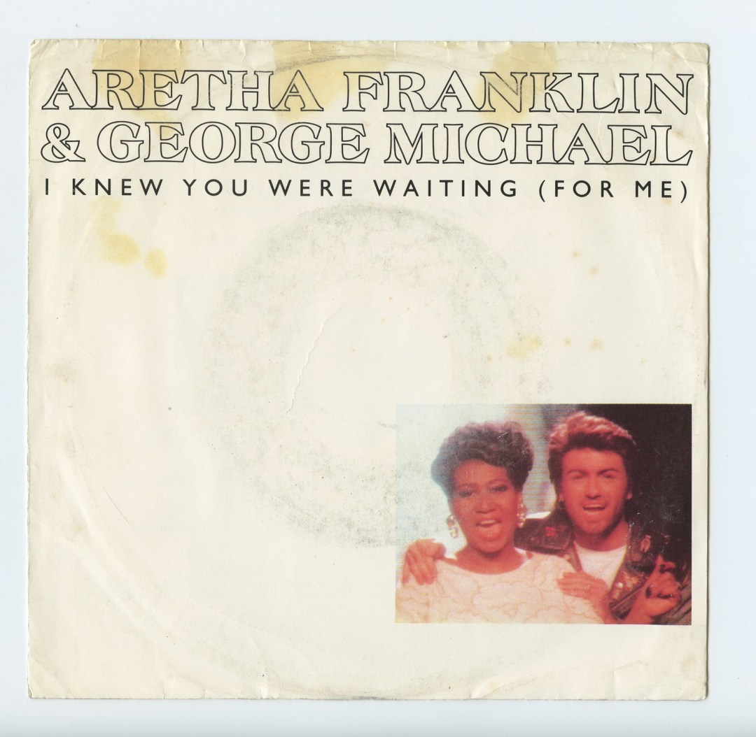 Aretha Franklin George Michael Vinyl I knew You were waiting 1987