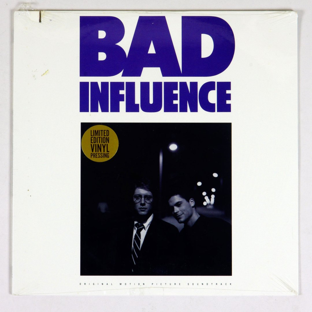 Bad Influence Vinyl LP Sealed NEW 1990 OST