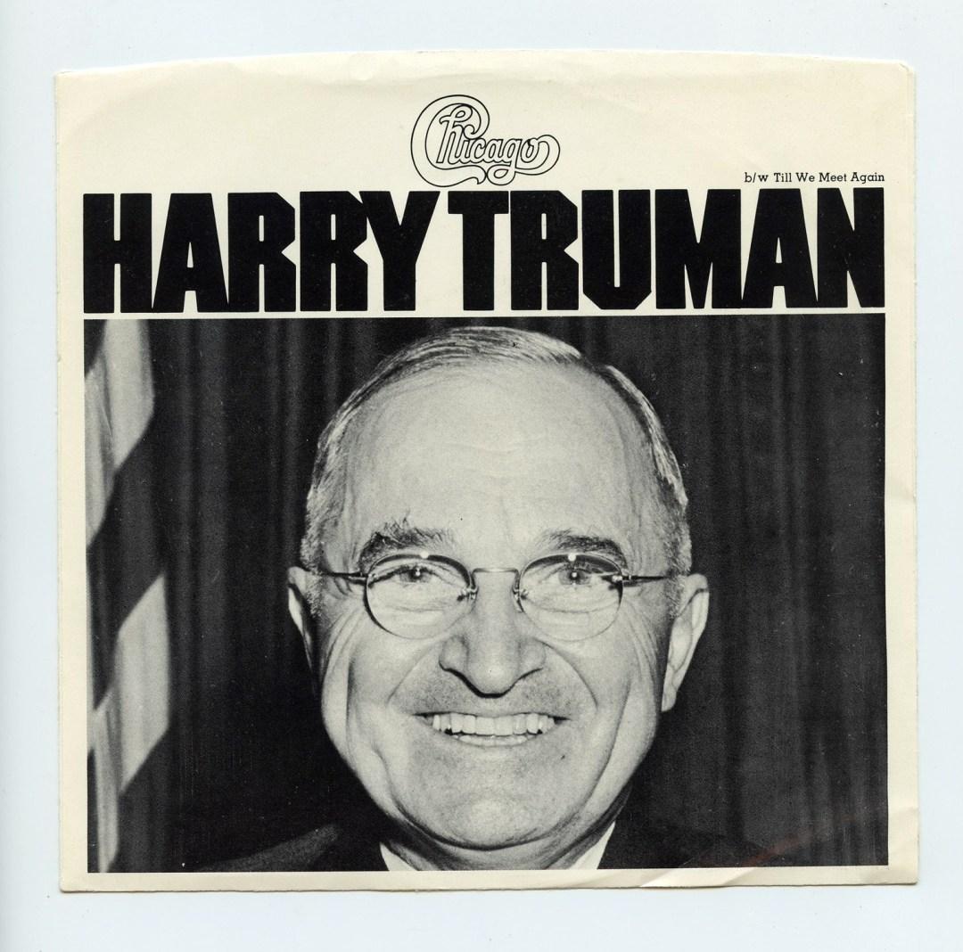 Chicago Vinyl Harry Truman 1975