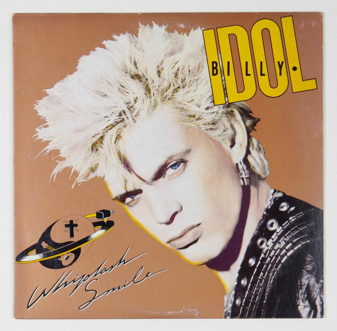 Billy Idol Whiplash Smile Vinyl LP 1986