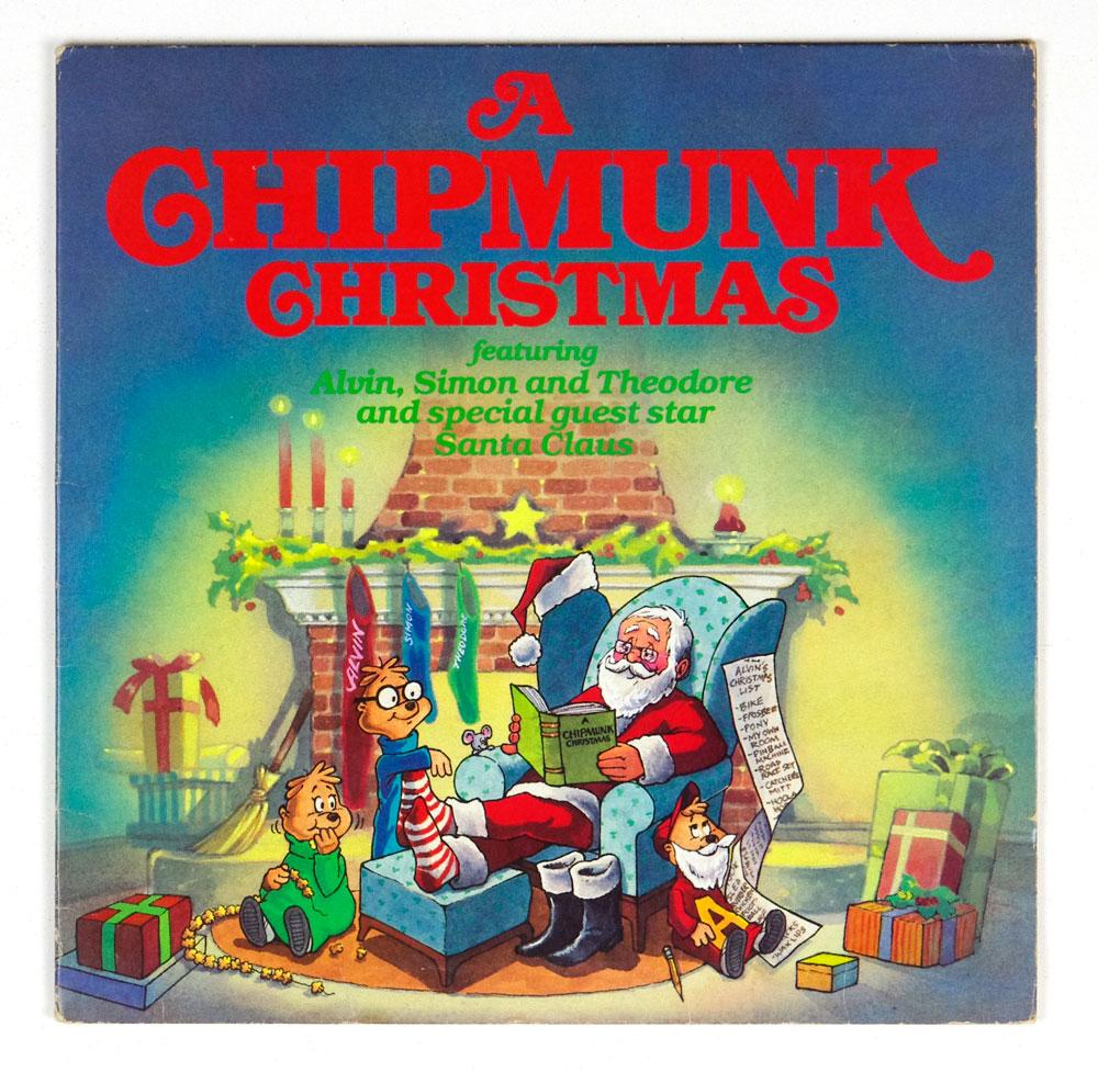A Chipmunk Christmas Alvin & The Chipmunks Vinyl LP Gatefold ...