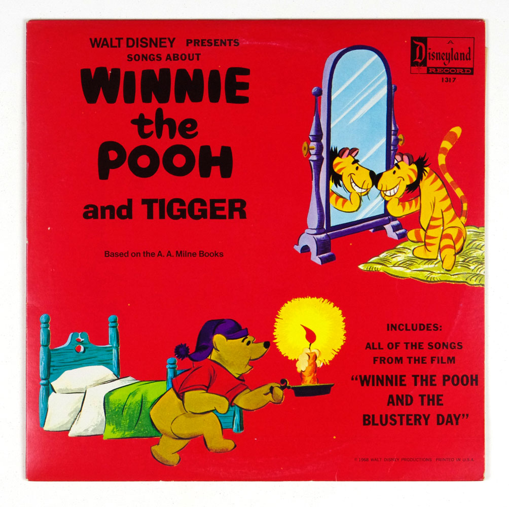 Walt Disney Presents Winnie The Pooh And Tigger Vinyl LP 1968