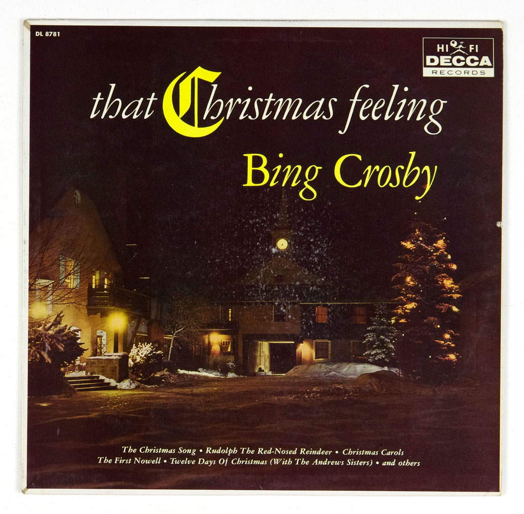 Bing Crosby That Christmas Feeling Vinyl LP 1960